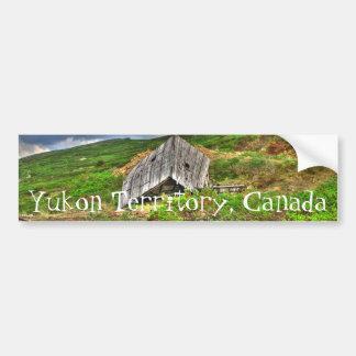 CIM Cabin in the Mountains Car Bumper Sticker
