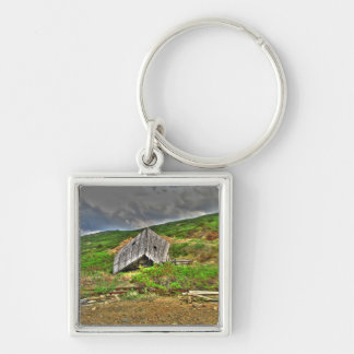 CIM Cabin in the Mountains Keychain