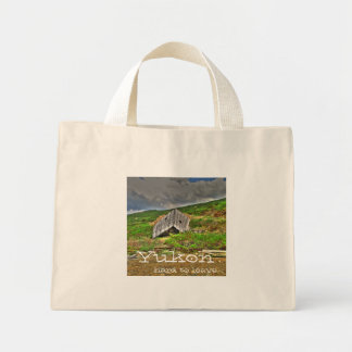 CIM Cabin in the Mountains Mini Tote Bag