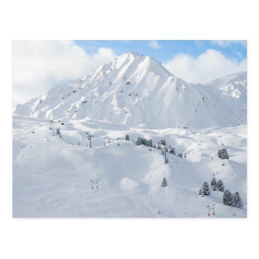 Cima de la montaña Nevado Postal