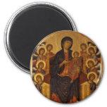 Cimabue Art Work 2 Inch Round Magnet
