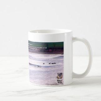 Cimarron River I - Oklahoma Deer Crossing Classic White Coffee Mug