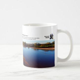 Cimarron River III - October Morning Looking East Classic White Coffee Mug