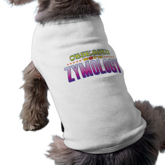 Cimología 2 obsesionada playera sin mangas para perro
