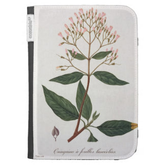 Cinchona from 'Phytographie Medicale' by Joseph Ro Kindle Case