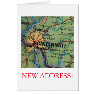 Cincinatti New Address announcement
