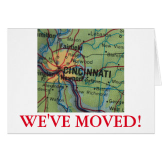 Cincinatti We've Moved address announcement