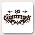 Cincinnati 513 coasters