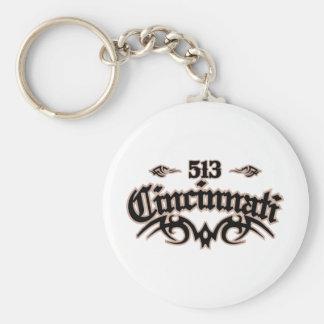 Cincinnati 513 keychain