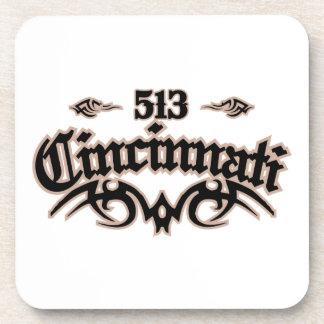 Cincinnati 513 posavasos de bebidas