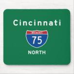 Cincinnati 75 alfombrilla de ratón