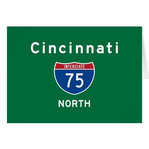 Cincinnati 75 felicitacion