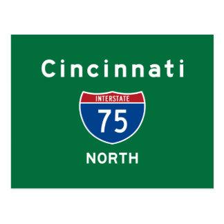 Cincinnati 75 postcard