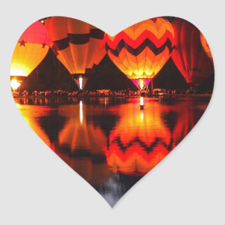 Cincinnati Balluminaria Heart Sticker