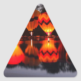 Cincinnati Balluminaria Triangle Sticker
