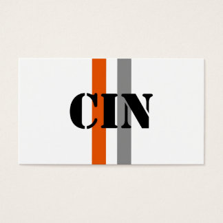 Cincinnati Business Card