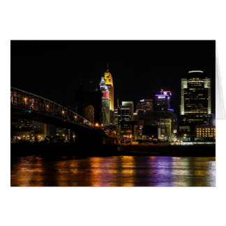 Cincinnati by Night Card