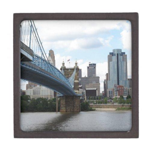Cincinnati céntrica caja de joyas de calidad