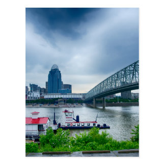 Cincinnati City in Ohio Postcard