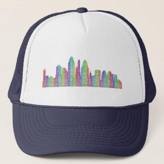Cincinnati city skyline trucker hat