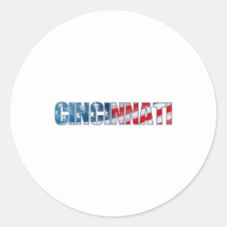 Cincinnati Classic Round Sticker