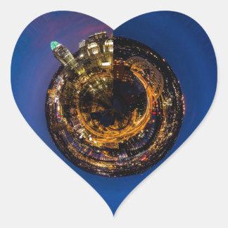 Cincinnati Dancing Heart Sticker