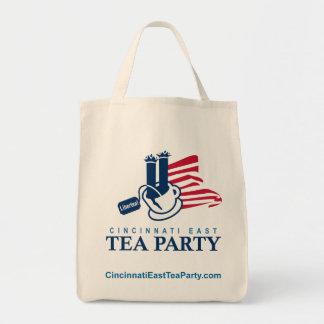 Cincinnati East Tea Party Tote Bag
