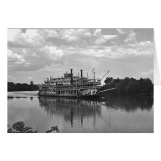 Cincinnati Excursion Steamer, 1942 Card
