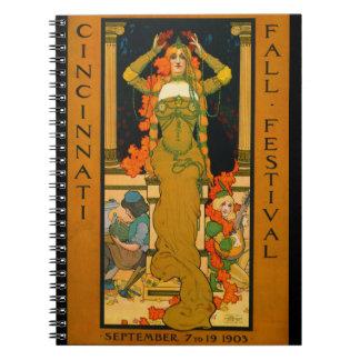 Cincinnati Fall Festival 1903 Notebook