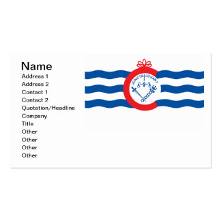 Cincinnati flag business card templates