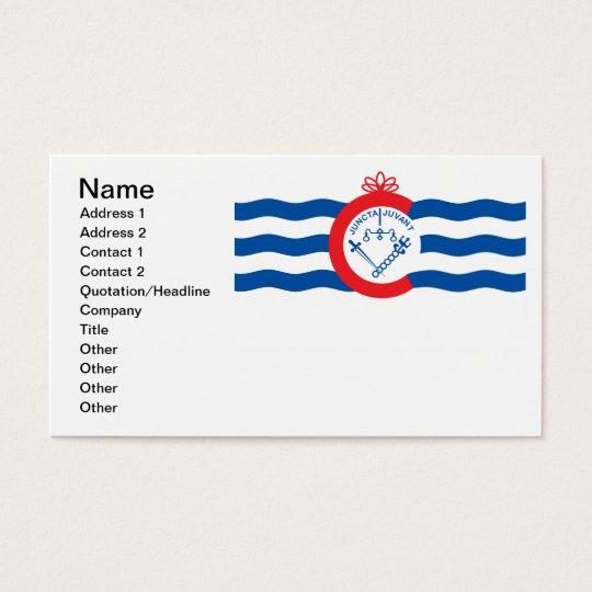 Cincinnati flag business card