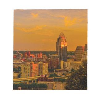 Cincinnati Golden Notepad