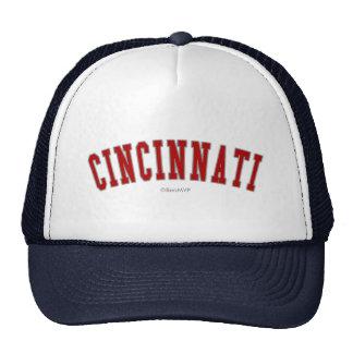 Cincinnati Gorros Bordados