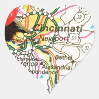 Cincinnati Heart Sticker