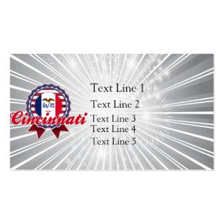Cincinnati, IA Business Card Template