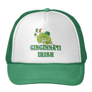 Cincinnati Irish Trucker Hat