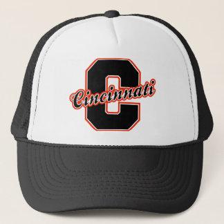Cincinnati Letter Trucker Hat