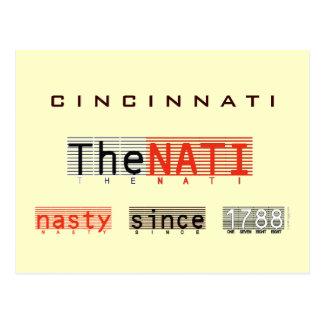 CINCINNATI Nasty Since 1788 Postcard