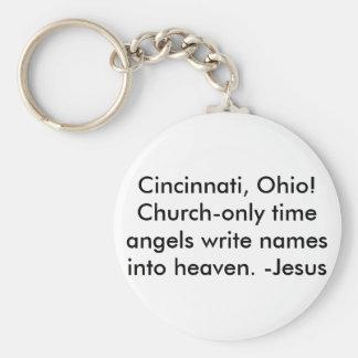 Cincinnati, Oh/Keychain-Be a witness! Keychain