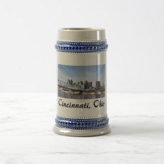 Cincinnati Ohio 18 Oz Beer Stein