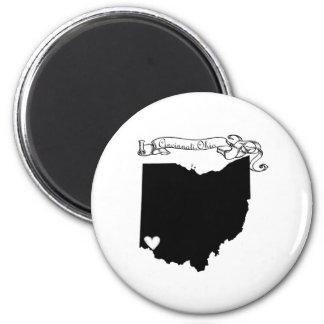 Cincinnati Ohio 2 Inch Round Magnet