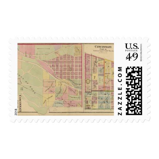 Cincinnati, Ohio 4 Postage