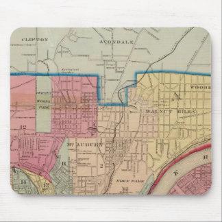 Cincinnati, Ohio and vicinity Mouse Pads