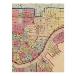 Cincinnati, Ohio and vicinity Postcard