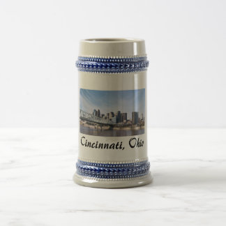 Cincinnati Ohio Beer Stein