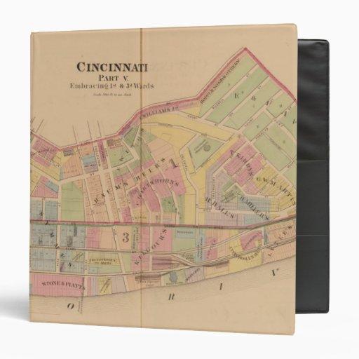 "Cincinnati, Ohio Carpeta 1 1/2"""