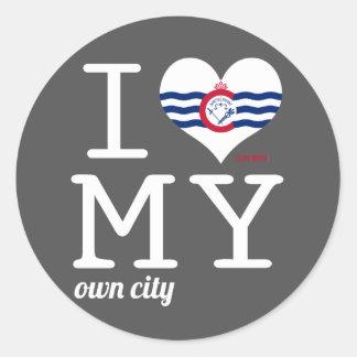 Cincinnati | Ohio Classic Round Sticker