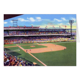 Cincinnati Ohio Crosley Field Greeting Card