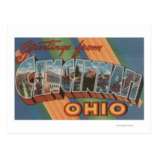 Cincinnati, Ohio - escenas grandes 2 de la letra Postales