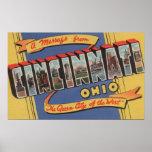 Cincinnati, Ohio - escenas grandes 2 de la letra Póster